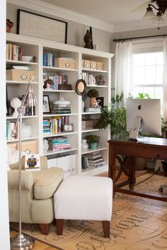 Billy Bookcases to Built Ins