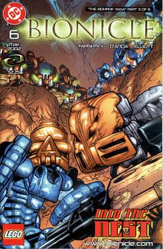 Bionicle: Comic 6 cover (Kelly 2002)