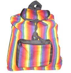 Rainbow Pride Backpacks from www.rainbowdepot.com  https://www.rainbowdepot.com/Bags-Cases_c_171.html #gaypride #rainbowdepot #pride #rainbowbackpack #backpack