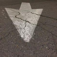 #Oakland #arrow #arrows #errantarrows #cement #concrete #asphaltart #urban #urbanart #urbanarcheology #artaccidently #pavement #hardscape #streetart #modern #modernist #accidentalart #abstractart #abstract #art #lookdown #unintentionalart #unexpectedart  #minimalist #minimal #intersection #asphaltography #roadart #streetmarkings