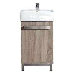 Small Vanity Bathroom martha stewart living seal harbor 30-1/4 in. w bath vanity in