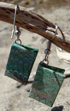 Earrings! Made of books! Yes, please!
