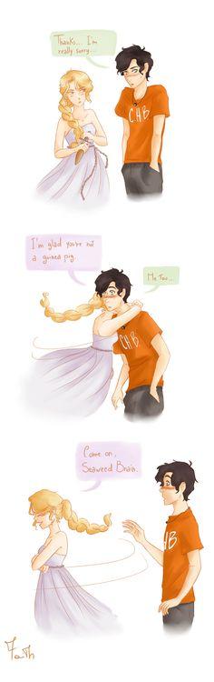 Haha Percy's face