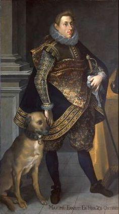 Maximilian Ernest of Austria (1583 - 1616). Son of Charles II of Austria and Maria Anna of Bavaria.