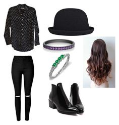 """""""Harry Styles Outfit (For Girls)"""" by thatawkwardpenguin on Polyvore featuring Steven Alan and kangol"""