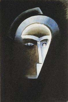 Podoba z biografu (1915) Cubism, Scene, Artist, Painting, Knifes, Art, Artists, Paintings