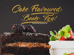 Cake Flavoured Books Tag - TopicCoffee Cake Flavors, Desserts, Books, Tailgate Desserts, Deserts, Libros, Book, Postres, Dessert
