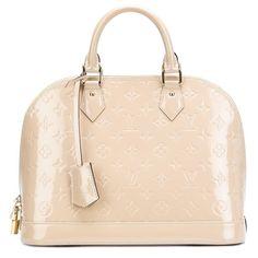 Louis Vuitton Vintage 'Alma' tote' ($2,900) ❤ liked on Polyvore featuring bags, handbags, tote bags, zip top tote, monogram tote, pattern tote bag, tote purses and zip top tote bag