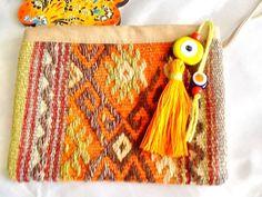 SALEGYPSY KILIM bag ethnic small bag Turkish Kilim bag by Nezihe1