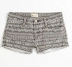 Patterned Indie Shorts