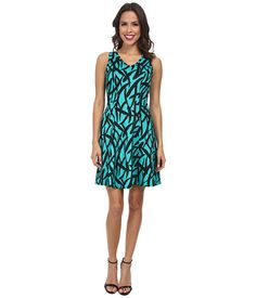 Karen Kane Scuba Print Dress
