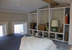 The Tiny Replica Home: a beautiful, cozy custom tiny house on wheels from Tiny Heirloom.
