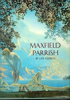 Maxfield Parrish by Coy L. Ludwig Coffee Table Book Illustrated Color Plates Art $20