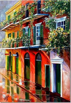 """French Quarter Sunshine"" by Diane Millsap"