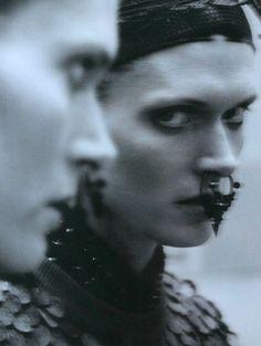 "thefashiondontlivewithoutvogue: ""The Dancer"": Malgosia Bela by Greg Kadel for i-D Summer 2012"
