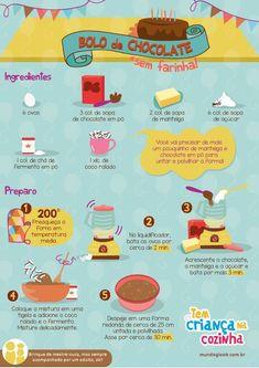 Receita de Bolo de Chocolate sem Glúten!!!   Mais receitas sem glúten você encontra no nosso blog: https://www.emporioecco.com.br/blog/receitas-sem-gluten/