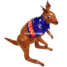 Complete your Australian party decorations with this funny inflatable kangaroo! Perfect for an Australia Day party.
