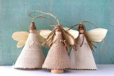 Sweet Tidings: Sweet Tidings 6th Day of Christmas: Earth Angel Ornaments