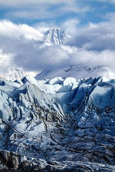 The Matanuska Glacier is a valley glacier in the US state of Alaska.  NEXT PINNER:  (I've been to the Matanuska Valley; too bad I didn't also go to the Glacier.)