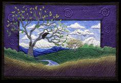 Landscape quilt by Dottie Moore                                                                                                                                                                                 More