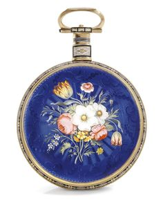 Ilbery  A YELLOW GOLD AND ENAMEL OPEN-FACED CENTRE SECONDS WATCH MADE FOR THE CHINESE MARKET NO 6622 CIRCA 1815  Estimate 21,946 - 27,932 USD LOT SOLD. 24,939 USD.  10/11/15 ||| sotheby's ge1504lot8psrhen