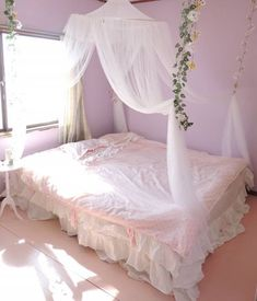 Shared by 𝓌𝒽𝒾𝓉𝑒 𝓉𝓇𝒶𝓈𝒽 𝒶𝓃𝑔𝑒𝓁. Find images and videos on We Heart It - the app to get lost in what you love. Cute Bedroom Ideas, Cute Room Decor, Room Ideas Bedroom, Bedroom Decor, Pastel Room, Pink Room, Dream Rooms, Dream Bedroom, My New Room