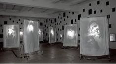 Image result for face projected onto cloth