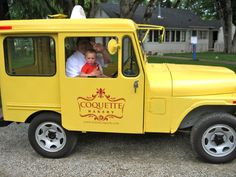 Coquette Bakery Bread Delivery Truck