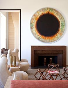 Eye see you, Interior architect Pierre Yovanovitch, who designed Hotel Marignan Paris