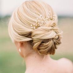 7 Stunning Wedding Updos for Every Type of Bride | StyleCaster