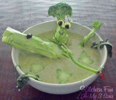 Kitchen Fun With My 3 Sons: Broccoli Swamp Soup