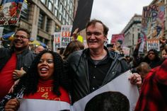 Quentin Tarantino Joins Protest Against Police Brutality