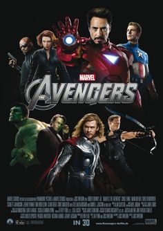 The Avengers Movie Poster #26 - Internet Movie Poster Awards Gallery