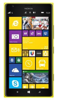 Nokia Lumia 1520 – Yellow- Factory Unlocked – LTE  http://www.discountbazaaronline.com/2015/08/26/nokia-lumia-1520-yellow-factory-unlocked-lte/