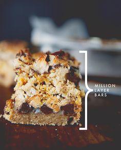 MILLION LAYER BARS - The Kitchy Kitchen