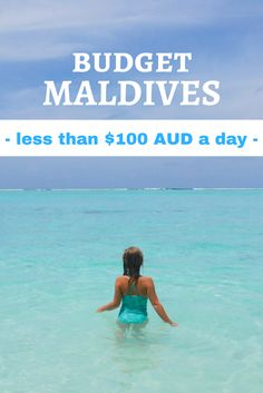Yes you can travel to the Maldives on a budget and have an amazing time!