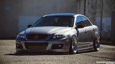 Mazdaspeed 6 slammed stanced