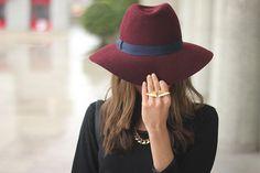 BeSugarandSpice burgundy hat