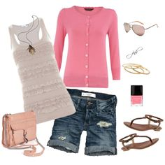 Pink Summer, created by jill-hammel on Polyvore