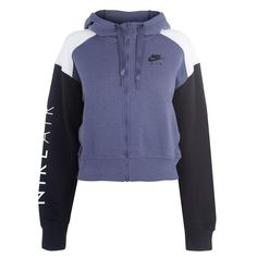 Chill Outfits, Crop Top Outfits, Nike Outfits, Outfits For Teens, Sport Outfits, Nike Air Hoodie, Zip Hoodie, Red And White Shirt, Jackets For Women