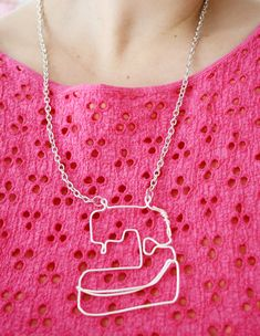 Luloveshandmade: 5 Different Handmade Necklaces - DIY: Wire Statement Necklace