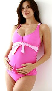 How cute is this bathing suit if you're pregnant? http://thestir.cafemom.com/baby/122972/The_Best_Swimsuits_for_the?utm_medium=sm_source=pinterest_content=thestir