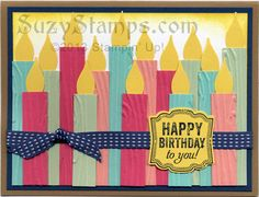 2013-07 Stampin' Up! Cards Stamp Camp - Label Love Stamp Set, Artisan Label Punch -  Birthday