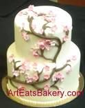 2 tier birthday cakes for women - Google Search