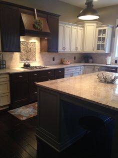 white kitchens, cool hood Unger home 2