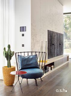 Interior design project by studio a.s.h. Villa Design, Modern Classic, Design Projects, Ash, Living Spaces, Interior Design, Studio, House, Design Interiors