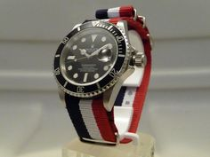 The only #Rolex I adore, 'cause its divers #watch. But to hell with #Rolex, I love the strap!