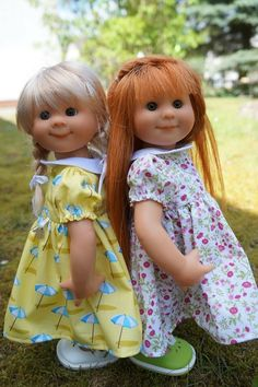 dolls by Rosemarie Anna Mueller
