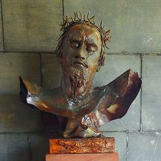 CHRIST CRUCIFIED, Coventry Cathedral, England Coventry Cathedral, Medieval, Christ, England, History, Photography, Painting, Art, Art Background