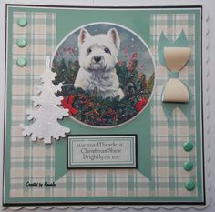 Christmas Dog, Christmas Cards, Kanban Cards, Animal Cards, Crafts To Do, Cardmaking, Card Ideas, Honey, Crafting